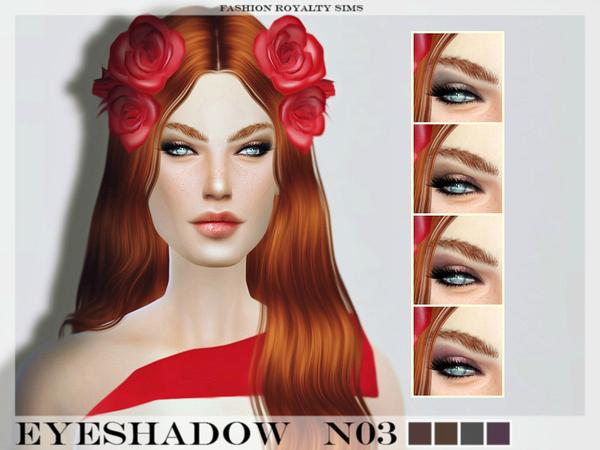 The Sims Resource: FRS Eyeshadow N03 by FashionRoyaltySims