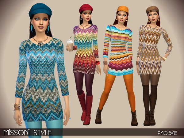 The Sims Resource: Missoni Style by Paogae