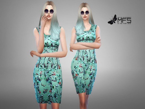 MissFortune Sims: Classy Blue Collection