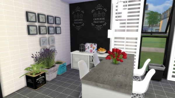 Dinha Gamer: Black & White Kitchen