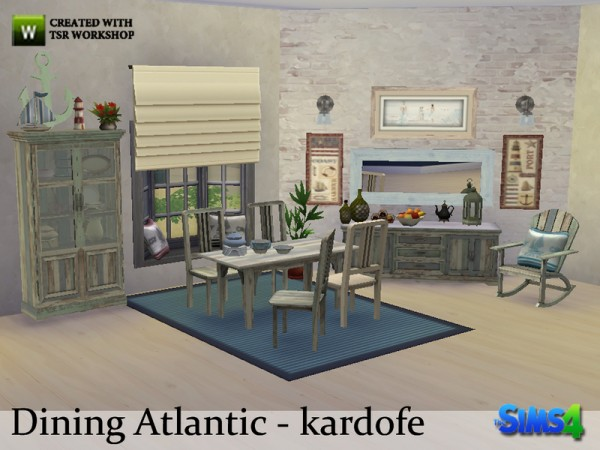 The Sims Resource: Dining Atlantic by Kardofe