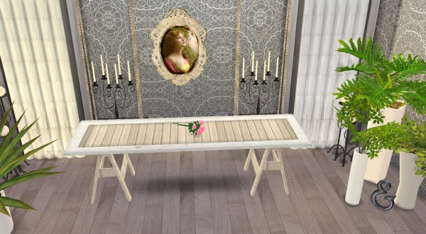 My little The Sims 3 World: Archi Tables Recolors