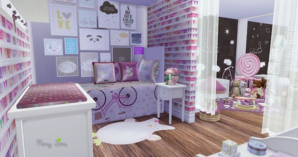 Mony Sims: Little Girl Bedroom