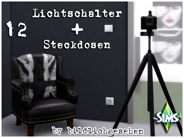 Akisima Sims Blog Light Switch And Socket Outlets Sims