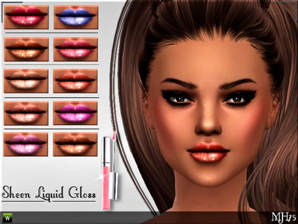 Sims Addictions: Sheen Liquid Gloss by Margies Sims