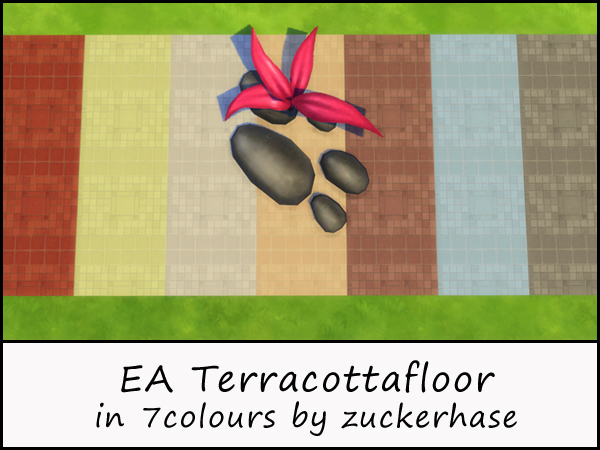 Akisima Sims Blog: Terracotta floor