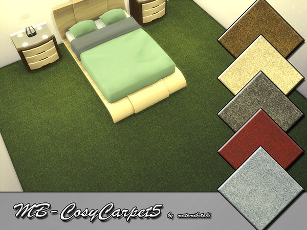The Sims Resource: MB  Cosy Carpet 5 by matomibotaki