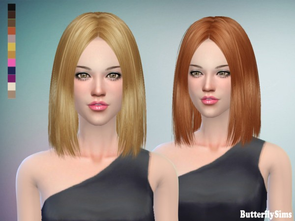 Butterflysims: B flysims hair af159 No hat