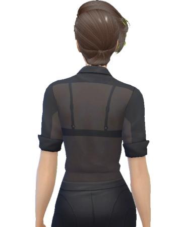Ladesire Creative Corner: Transparent blouse by Sirena