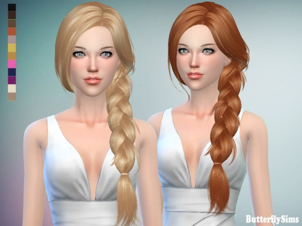 Butterflysims: B flysims hair af 160 JO   No hat
