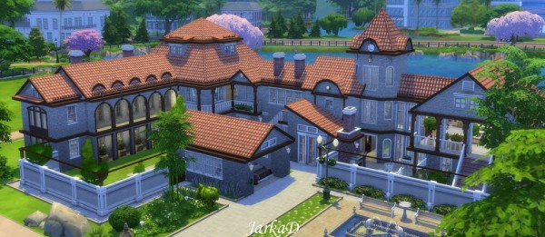 Jarkad sims 4 casa mariette no cc sims 4 downloads for Sims 4 piani di casa