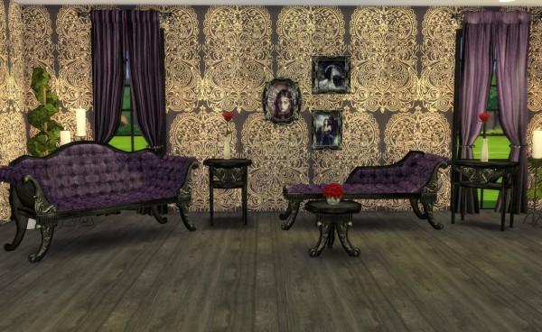 My Little The Sims 3 World Adele Victorian Gothic Set
