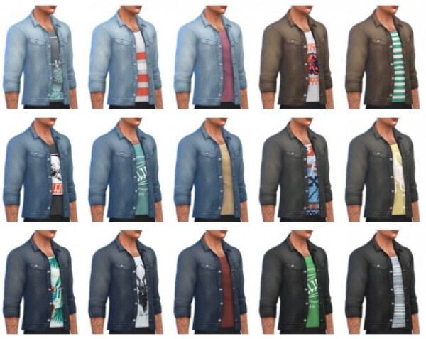 Simsontherope: Denim Jacket