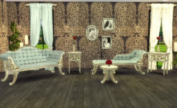 ... My Little The Sims 3 World: ADELE Victorian Gothic Set Recolors