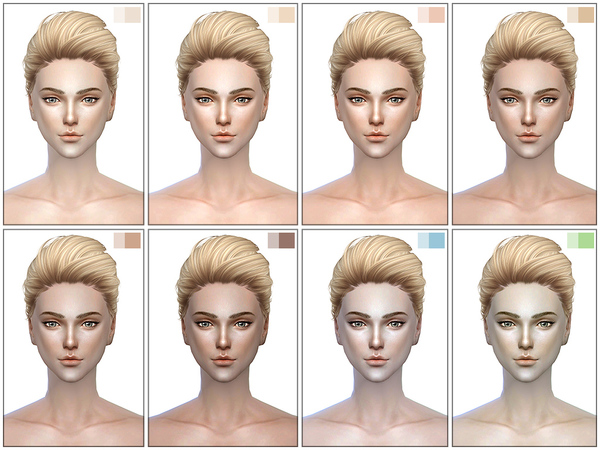 The Sims Resource: HS3.0 skin by S Club