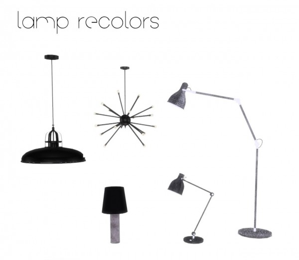 Ceiling Lamp The Sims 4