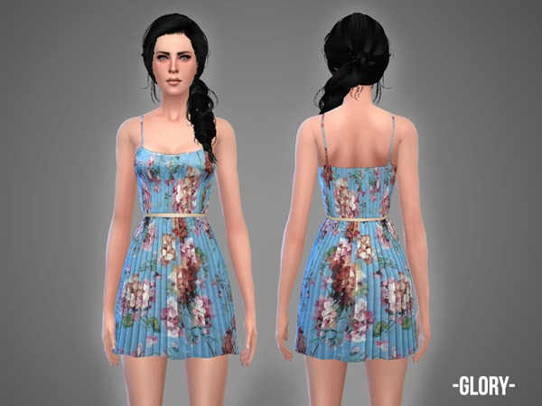 The Sims Resource: Glory   dress by April