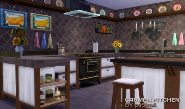 PQSims4: Carmen Kitchen