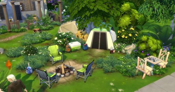 Studio Sims Creation: Ruins Park