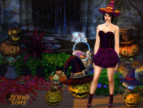 Jenni Sims: Decoration Happy Halloween!!