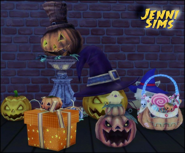 Jenni Sims: Decoration Happy Halloween!!