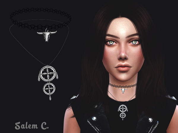 The Sims Resource: Toro Choker by Salem C