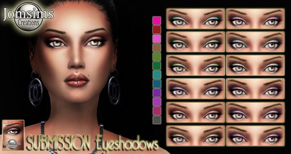 Jom Sims Creations: Submission eyeshadow