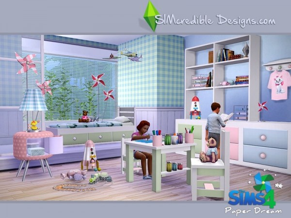 The Sims Resource: Paper dream by SIMcredible