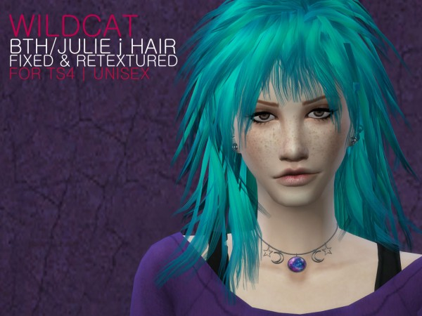 The Path Of Nevermore: Wildcat hairstyle retextured