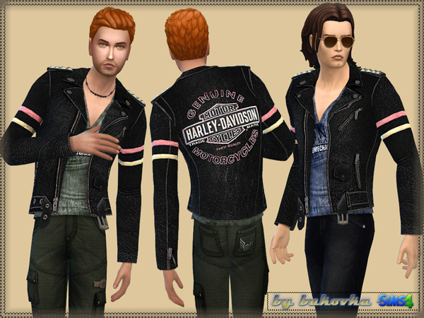 The Sims Resource: Jacket Davidson by bukovka
