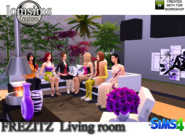 The Sims Resource: Frezizt Modern Livingroom by JomSims