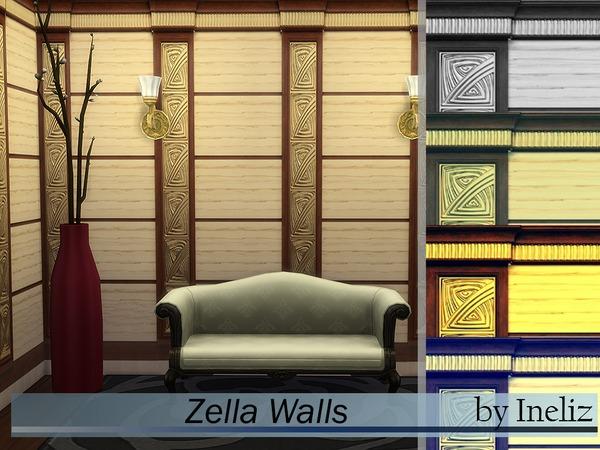 The Sims Resource: Zella Walls by Ineliz