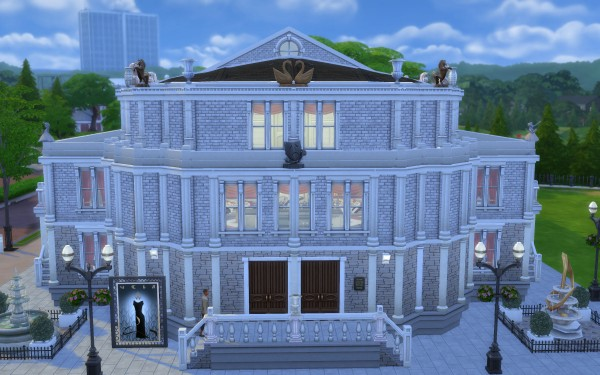 Mod The Sims: Semperoper Concert Hall   no CC by Glouryian
