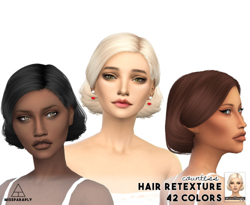 Miss Paraply: Hair retexture   Anto Countess