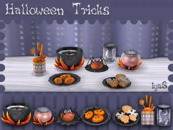The Sims Resource Halloween Treats By Solorya Sims 4