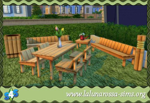 La Luna Rossa Sims: Country Set