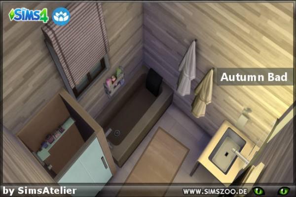 Blackys Sims 4 Zoo: Autumn bathroom by Sims Atelier