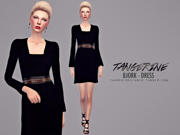 Sims Fans: Bjork   Dress by Tangerine