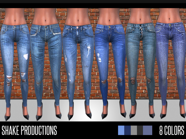 The Sims Resource: 41 jeans set by ShakeProductions