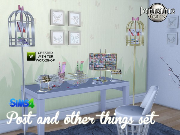 The Sims Resource: Post and other things set by jomsims