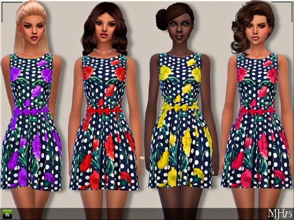 Sims Addictions: New Girl Dress by Margies Sims