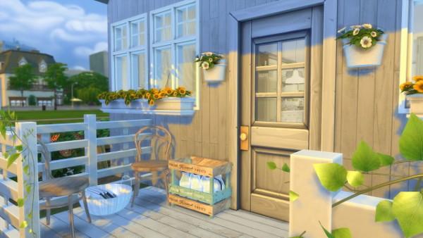 Dinha Gamer: White Cottage