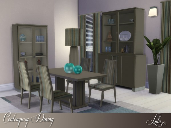The Sims Resource: Contemporary Dining by Lulu265