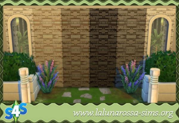 La Luna Rossa Sims: Stone Bricks
