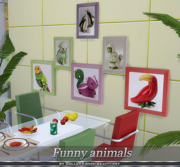 Sims Creativ: Painting Funny Animals by HelleN