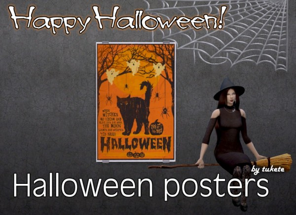 Tukete: Halloween posters