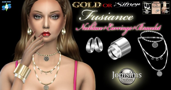 Jom Sims Creations: Fusiance jewelry