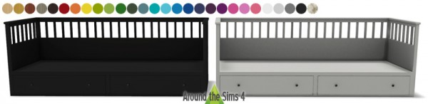 Around The Sims 4 Ikea Inspiration Bedroom Sims 4 Downloads