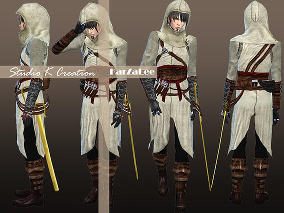Studio K Creation Assassin Outfit Sims 4 Downloads