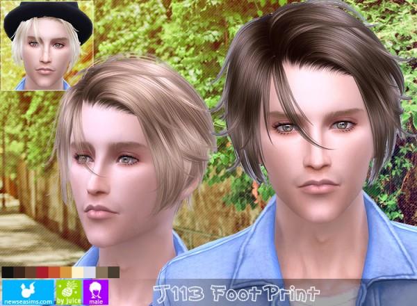 NewSea: J113 Foot Print hairstyle